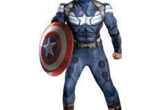 Captan America Mascot