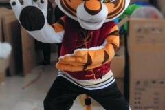 kungfoo Tiger Mascot