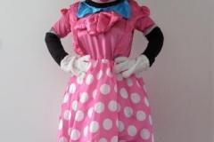 Pink Mini Mascot