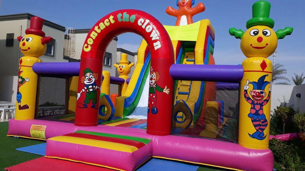 Bouncy Castle Slider